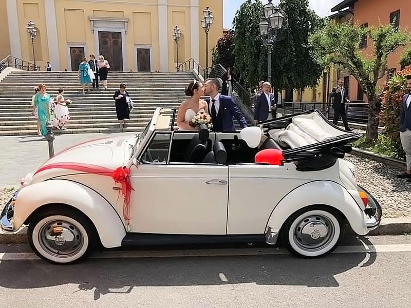 Noleggio auto d'epoca per cerimonia a Como