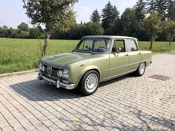 noleggio auto storiche lago di Como Alfa Giulia 1.6