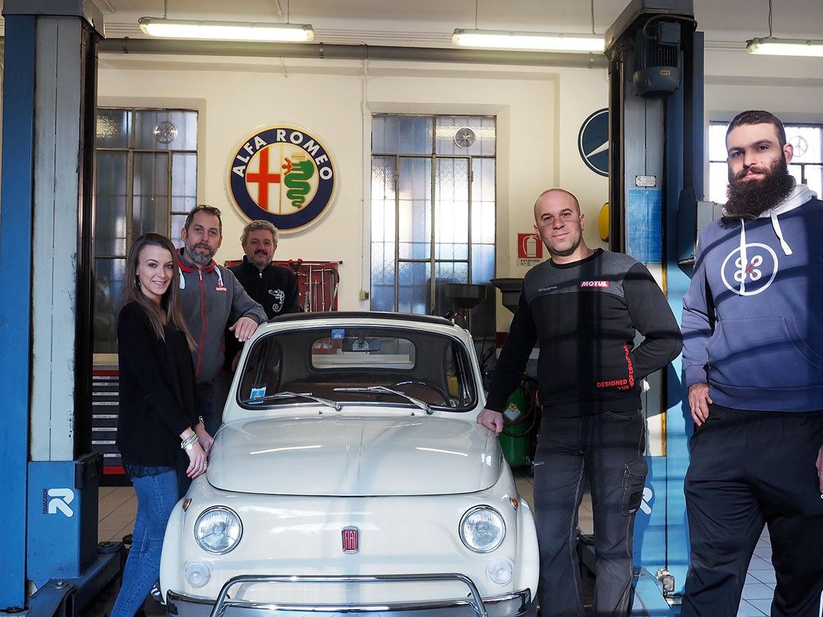 Team Breccia Motori l'autofficina a Como