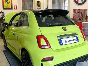 Manutenzione Abarth da Breccia Motori autofficina a Como