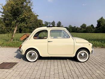 Noleggio auto d'epoca per matrimonio ed eventi a Como e provincia Fiat 500